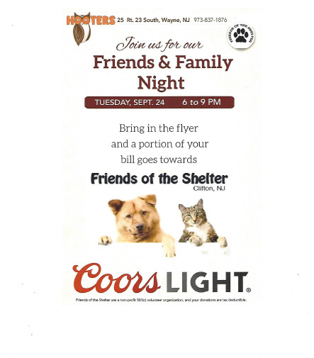 Friends of the Shelter - Clifton, New Jersey